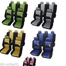 Für BMW 3er E46  Sitzbezüge / Schonbezüge Gecko blau grün gelb pink grau
