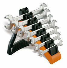 BETA TOOLS 55/SP7  7 Pce. DOUBLE OPEN ENDED SPANNER WRENCH SET With Storage Rack