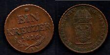 AUTRICHE   1 KEUZER 1816 A  TRES BELLE MONNAIE