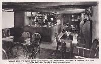 R319923 Totnes. Public Bar. Ye Olde Cott Inne Hotel. Dartington. The Second Olde