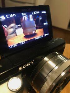 Sony NEX-F3 Camera + 2 lenses - Used good condition