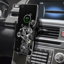 Wireless Fast Car Charger Holder Mount For Samsung Galaxy S20 Ultra Plus iPhone