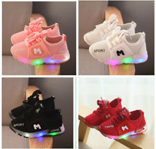 Fashion Baby Lights Shoes Toddler Boy Girl Casual Sports Shoes Kids Sneakers LED