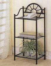 Black Metal Sunburst Design Phone Stand Accent Table By Coaster 2429