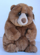 "Lou Rankin Brown Bear Jasper 12"" Plush Stuffed Toy"