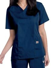 Landau ScrubZone by Landau Women's Plus V-Neck Scrub Top Size Xxl