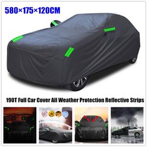 1×Outdoor Full Car Cover Waterproof Heavy Duty Rain UV Protection Breathable XL
