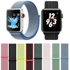 Sports Loop Band for Apple Watch Nylon Strap for iWatch to fit Series SE 6 5 4 3