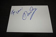 SCORPIONS Klaus Meine signed Autogramm auf 15x20 cm Karteikarte InPerson LOOK