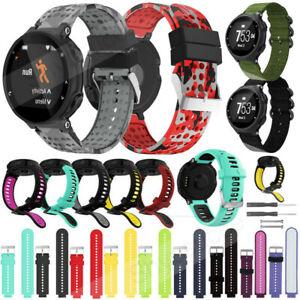 Silicone Sports Watch Band Strap For Garmin Forerunner 735XT 220 230 235 620 630