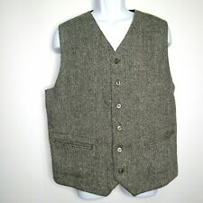 The Territory Ahead Men's Wool Vest Gray Size Large