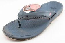 New Balance Flip Flops Gray Synthetic Women Shoes Size 8 Medium (B, M)