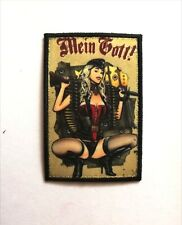 Pin Up Mein Gott ! Patch Morale Militaire Tactique Armée Drapeau 7,6cm x 5cm