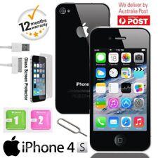 Apple iPhone 4S 8GB Factory Unlocked Smartphone Black - Grade A Condition UK