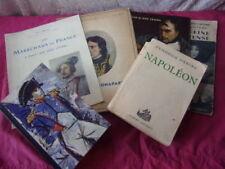lot de livres sur Napoléon et l'Empire + catalogue Manuscrits et Autographes