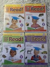 Your Baby Can Read! by Robert Titzer Ph.D. Vol 1 2 3 & Review Brand New
