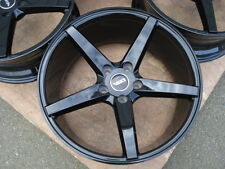 18 VolksWagen VW Jetta Golf GTI MKV Rabbit Passat EOS R32 Black 5x112 Wheel Rims