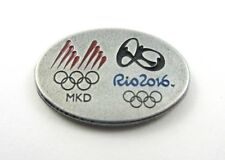 RIO 2016 MACEDONIA NOC OLYMPIC COMMITTEE OFFICIAL OLYMPIC PIN