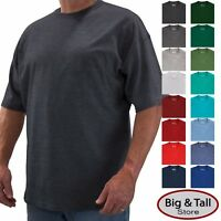 Big /& Tall Men/'s Hanes Undershirts CREW NECK 3-Pack White 2XLT 6XLT