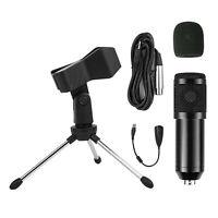 Kondensator Mikrofon Mic Kit USB Kabel Audio Kabel für Podcast Musik Aufnahme