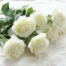 Wholesale New Rose Flowers Bouquet Real Latex Touch For wedding And Home Decor