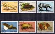 Animaux  faune sauvage St Thomas et Prince (27) complète 6 timbres oblitérés