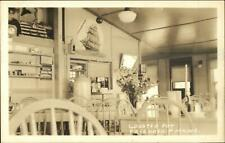 Freindship ME Lobster Pot Restaurant Interior Real Photo Postcard