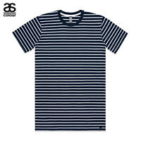 AS Colour ASColour Print Mens Blank Plain Staple Navy Stripe T-Shirt Tee Cotton