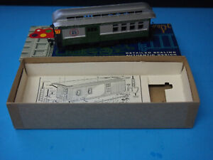 HO Scale Roundhouse Pacific Northwest NMRA 30th Anniversary Overland Coach