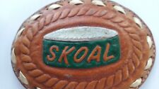 Nascar Racing Harry Gant Scoal Bandit Collectible Leather Belt Buckle