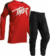 2020 THOR SECTOR LINK MX MOTOCROSS ENDURO OFFROAD ADULT KIT GEAR SUIT RED BLACK