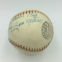 Beautiful Zack Wheat Single Signed Autographed Baseball Hall Of Fame PSA DNA