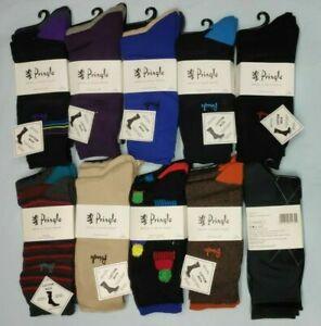 12/18 Pringle Men's Dress Cotton Rich Socks MOOTH HAND LINKED SEAMS Size 7-11