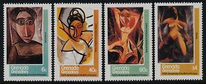 Grenada Grenadines 435-9 MNH Art, Paintings, Pablo Picasso