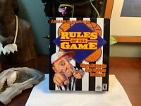 Rules of the Game 2001 (PC, 2001) Retail Box PC CDRom Game Win 95/98 SEALED Rare