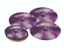 Paiste Color Sound 900 Purple 5 Pc Universal Cymbal Set/Free Gear!/Brand New