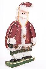 Statua in piedi BABBO NATALE / Babbo Natale di legno altezza circa 20cm