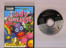 LADY CRUNCHER. GREAT 3D ARCADE PACMAN STYLE GAME FOR THE PC!!