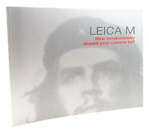 LEICA M HOW REVOLUTIONARY SHOULD YOUR CAMERA BE? - UK DEALER