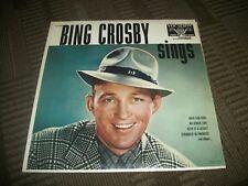BING CROSBY ---SINGS----- VINYL ALBUM