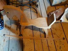 Ca 30 jahr altes Schaukelpferd wurde auf der Spielzeug Messe gekauft alt Holz