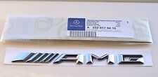 New AMG Badge Emblem( 2014-on) fits Mercedes Benz C E S CL CLK CLS R G SL Class