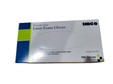 Latex Exam Gloves, Disposable, Powder Free - 50 or 100 count✔