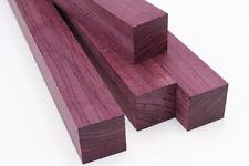 "Exotic Wood Blank: Purpleheart - 2""×2""×6"""