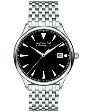 Movado Men's Swiss Heritage Stainless Steel Bracelet Watch 40mm 3650012