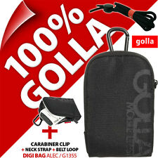 New Golla Universal Compact Digital Camera Case Bag Black for Canon Sony Samsung