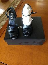 Chanel Moonlight 105 Strappy  Sandals Sz 36