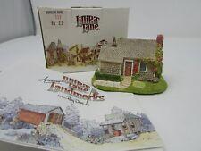 Vtg Lilliput Lane Collection Rambling Rose Cottage Coa & Boxed
