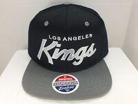 Los Angeles KINGS NHL Retro Vintage Snapback Cap Hat New By Zephyr