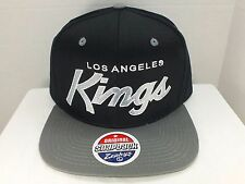 Los Angeles KINGS NHL Retro Vintage Snapback Cap Hat New By Zephyr